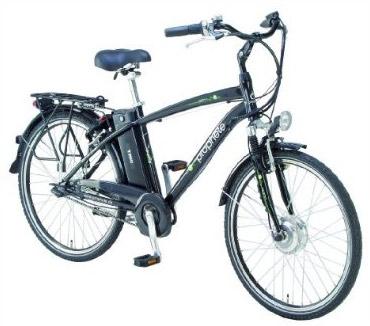 16% reduziert: Ebike Prophete Herren Alu-City-Elektrofahrrad